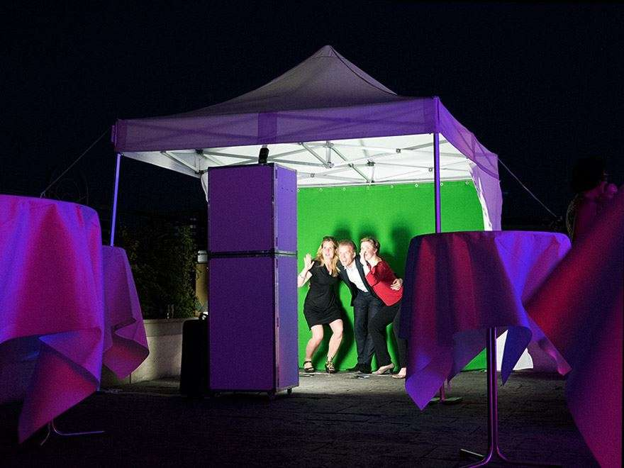 Fotobox Eventzelt